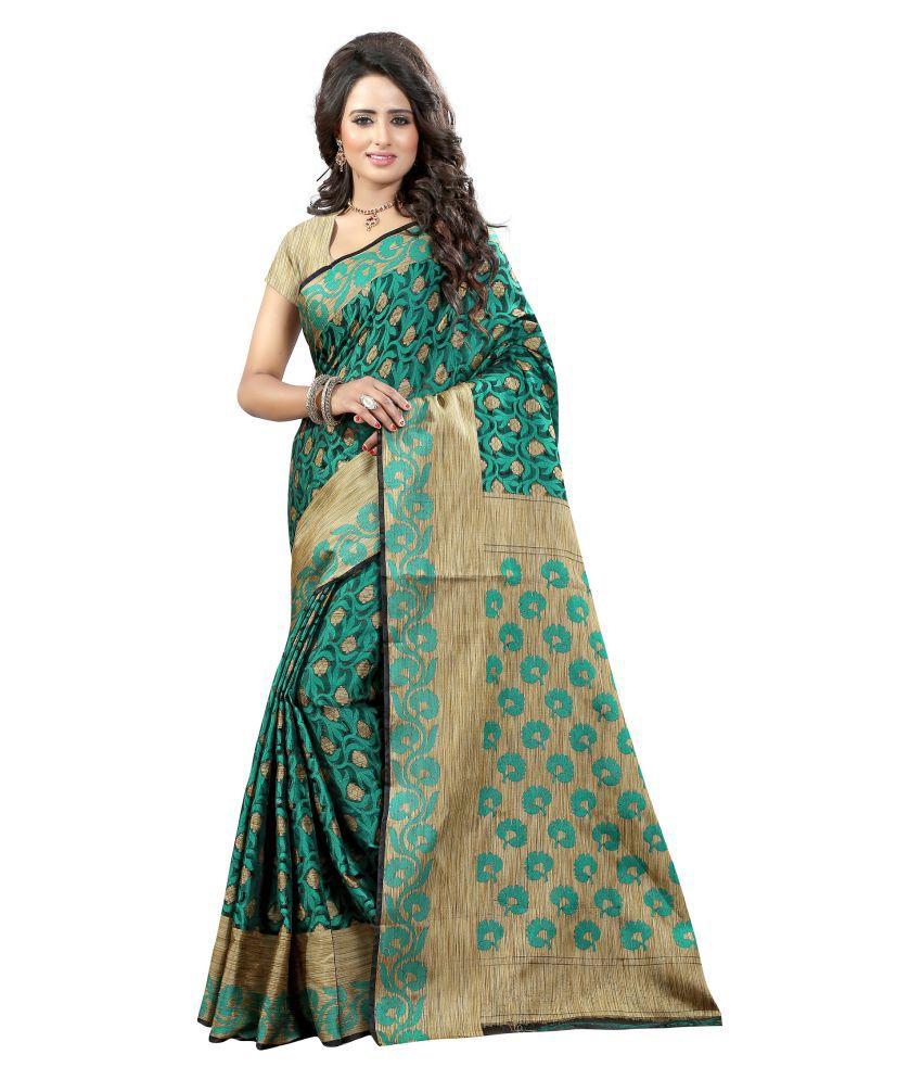 Wedding Villa Multicoloured Banarasi Silk Saree