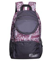F Gear Helix Violet, Grey Backpack
