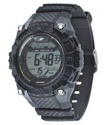 Sonata Black Digital Watch For Men