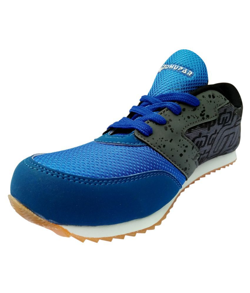 Dhupar Products DP-MARATHON-BLU-G Blue Running Shoes
