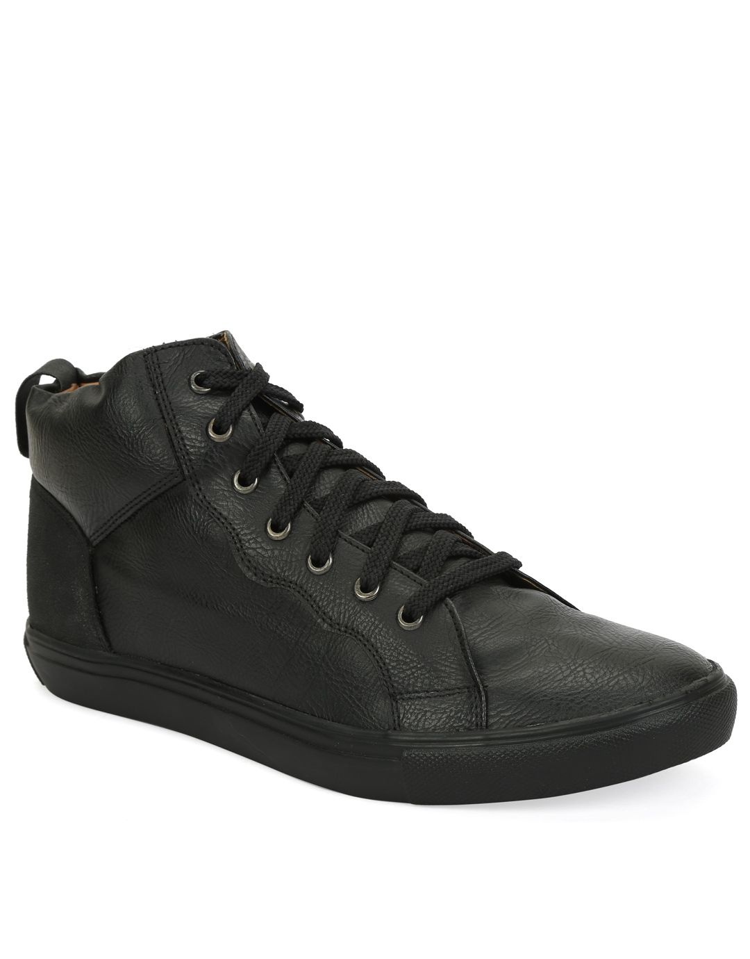 Knotty Derby Black Casual Boot