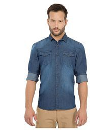 b7abea2ae5a6 Denim Shirt: Jeans & Denim Shirts For Men UpTo 77% OFF - Snapdeal.com