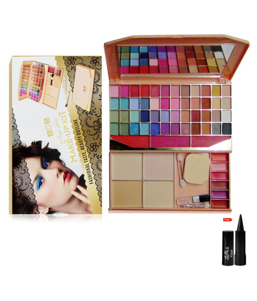 ADS Make up kit Free Kajal Makeup Kit 80 gm: Buy ADS Make up kit Free Kajal Makeup Kit 80 gm at Best Prices in India - Snapdeal