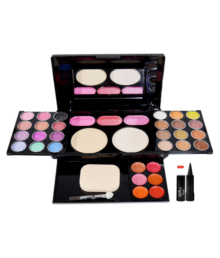 NYN Waterproof Make up kit Free Kajal Makeup Kit 55 gm ...