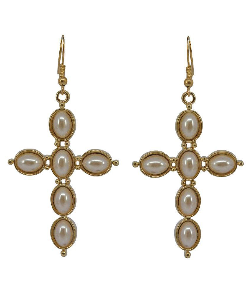 Saloni Fashion Jewellery Golden Earring