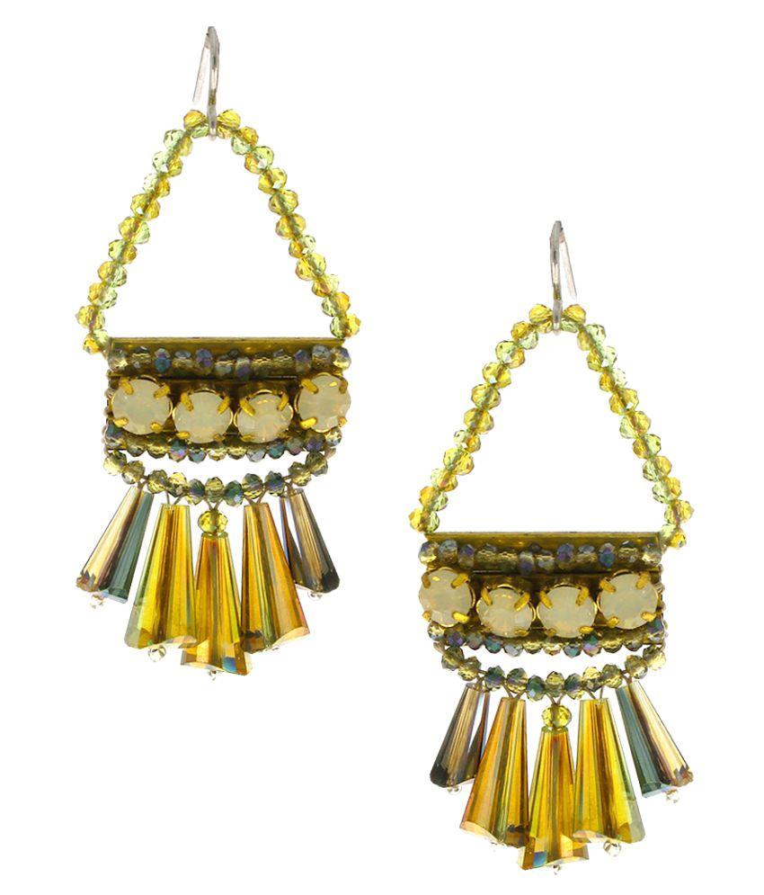 Anuradha Art Multicolour Very Classy Wonderful Designer Long Party Wear Fancy Earrings for Women