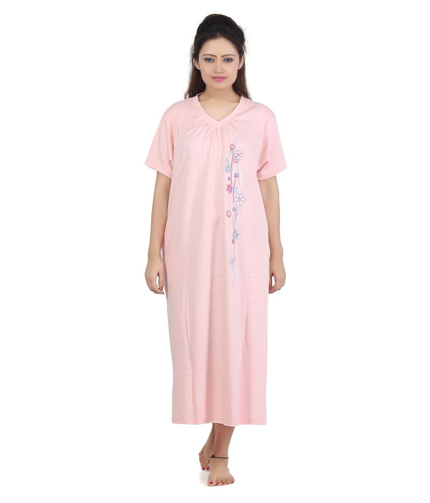 Sweet Dreamers Cotton Nighty & Night Gowns