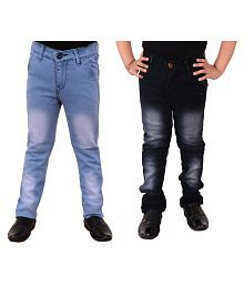 Guchu Multicolor Jeans - Pack of 2
