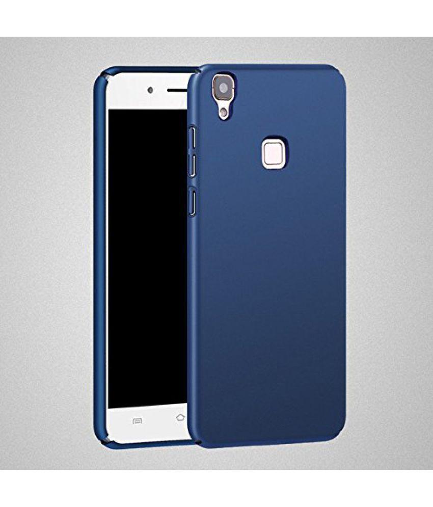 new styles cc26b 397fd Vivo V3 Plain Cases KTC - Blue