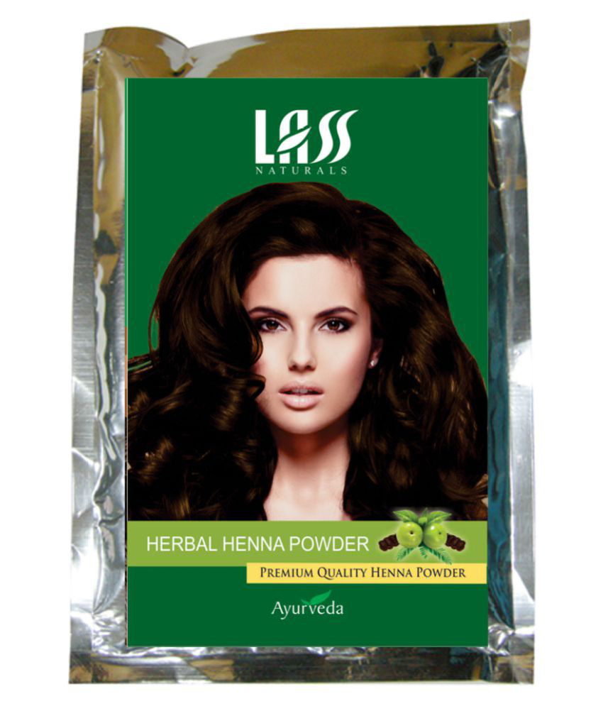 Lass Naturals Temporary Hair Color Henna 100 gm
