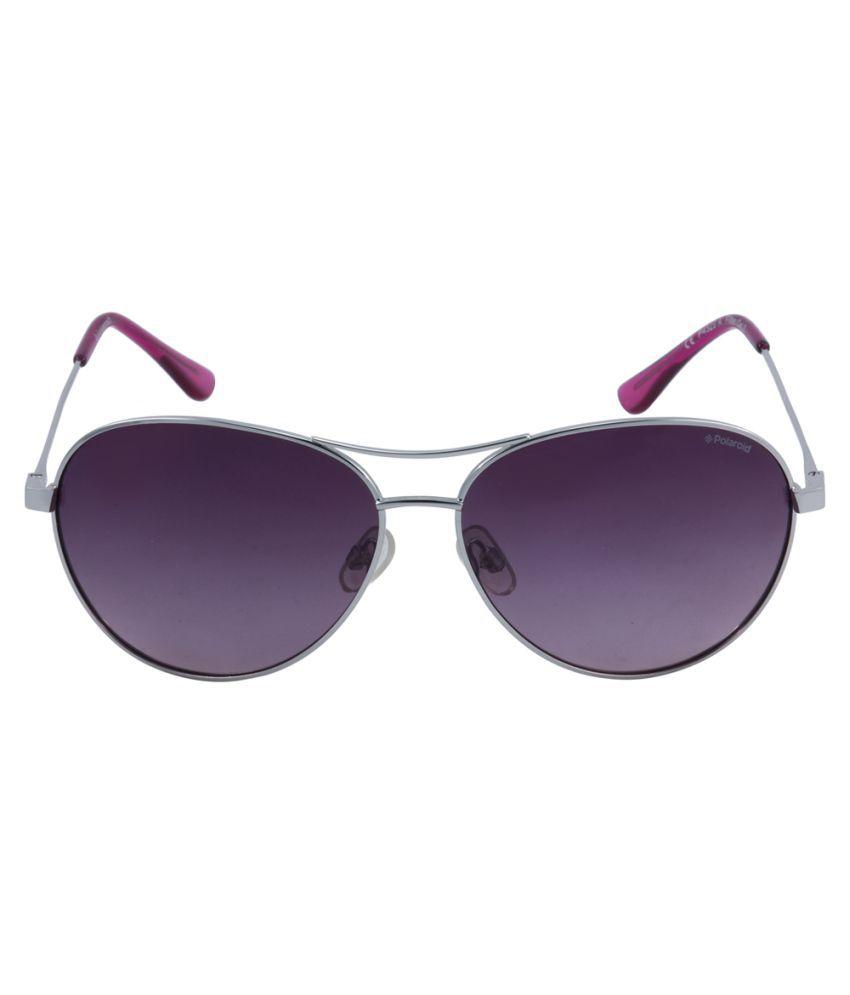 f4f4cd2c2c Polaroid Purple Aviator Sunglasses ( P4329-A ) - Buy Polaroid Purple ...