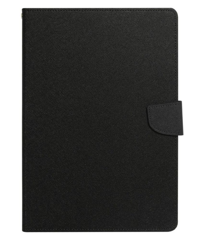 Datawind Ubislate 3G7Z Flip Cover By Krishty Enterprises Black