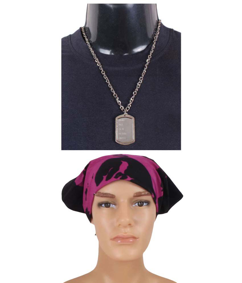 Sushito Combo of Pendant and Headwrap