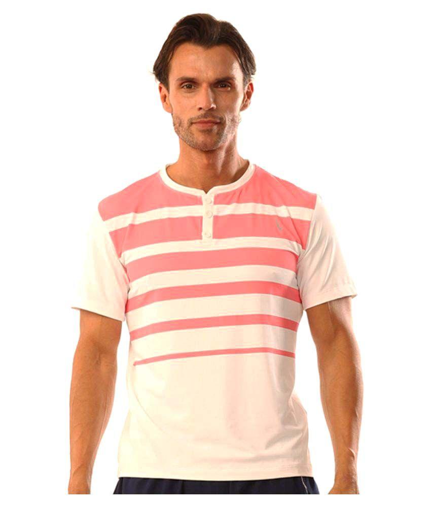 Dive Pink Polyester Lycra T Shirt