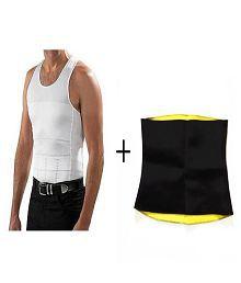 d79069f2a Ibs Combo of Men Slim N Lift And Hot Shaper Sweat Belt (XL) Men s Shapewear