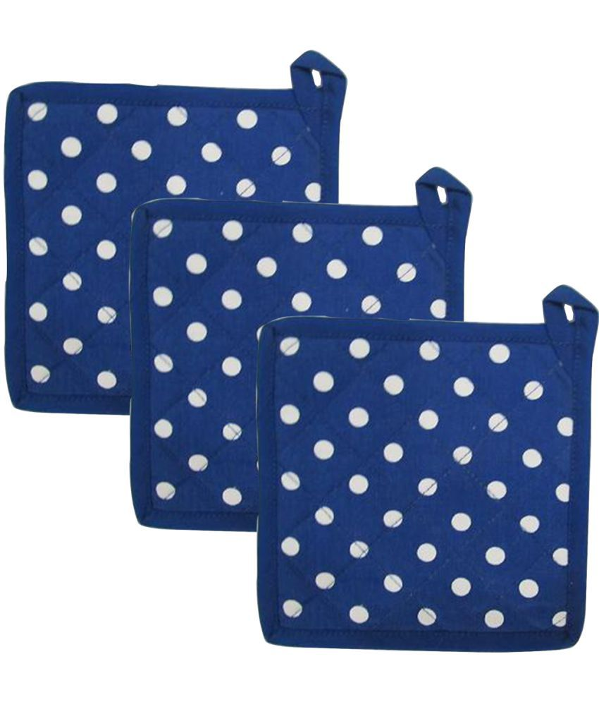 Airwill Cotton Oven Pot Holders (Pack of 3)