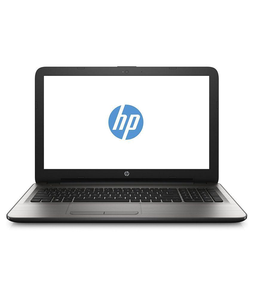 HP 15-ay084tu Notebook (6th Gen Intel Core i5- 4GB RAM- 1TB HDD- 39.62cm (15.6)- DOS) (Silver)