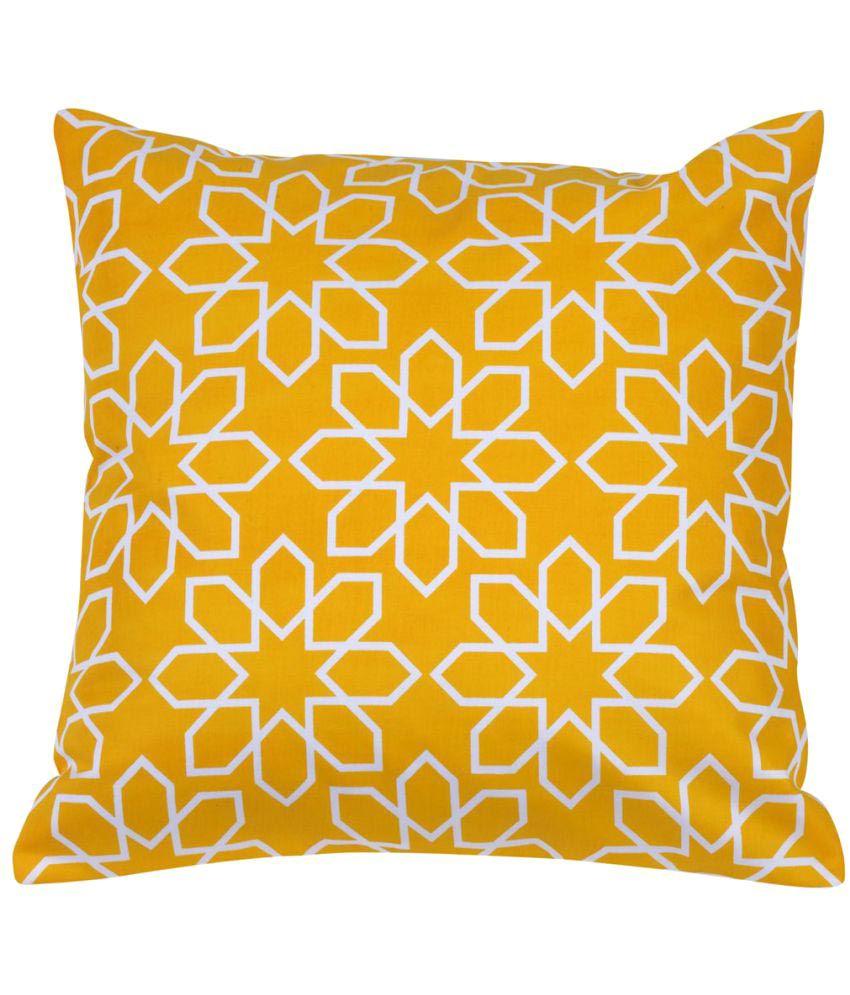 Rang Rage Single Cotton Cushion Covers 40X40 cm (16X16)