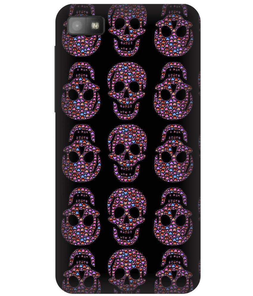 Blackberry Z10 Printed Cover By Skintice
