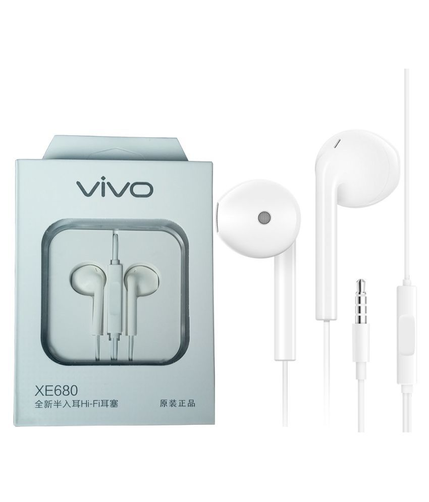 9a0a9e0fa60 Vivo XE680 In Ear Wired Earphones With Mic - Buy Vivo XE680 In Ear Wired  Earphones With Mic Online at Best Prices in India on Snapdeal