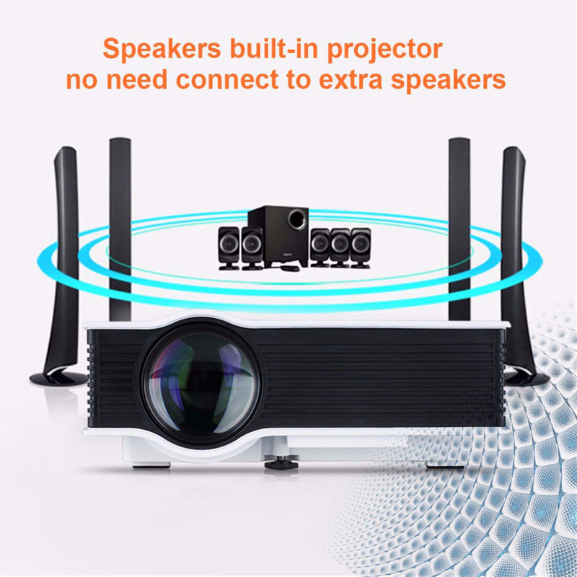 Vizio VZ D200 With Wifi Led Projector 3 D