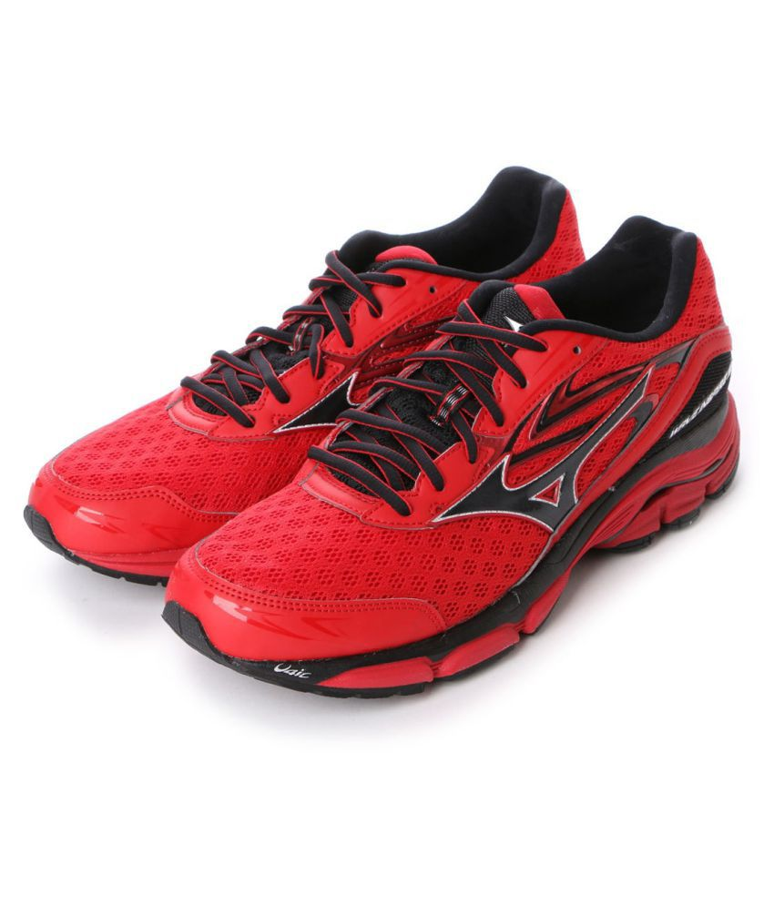 size 40 28acd d7ecd Mizuno Wave Inspire 12 Red Running Shoes - Buy Mizuno Wave Inspire 12 Red  Running Shoes Online at Best Prices in India on Snapdeal