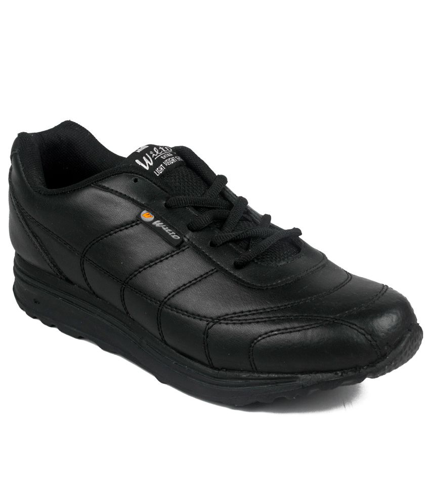 a26e990b7 Asian Black Running Sport Shoes - Buy Asian Black Running Sport Shoes  Online at Best Prices in India on Snapdeal
