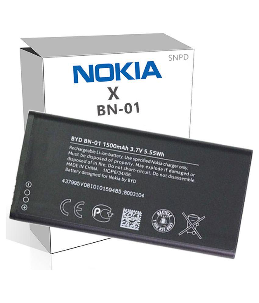 Nokia X 1500 mAh Battery by SNPD ...