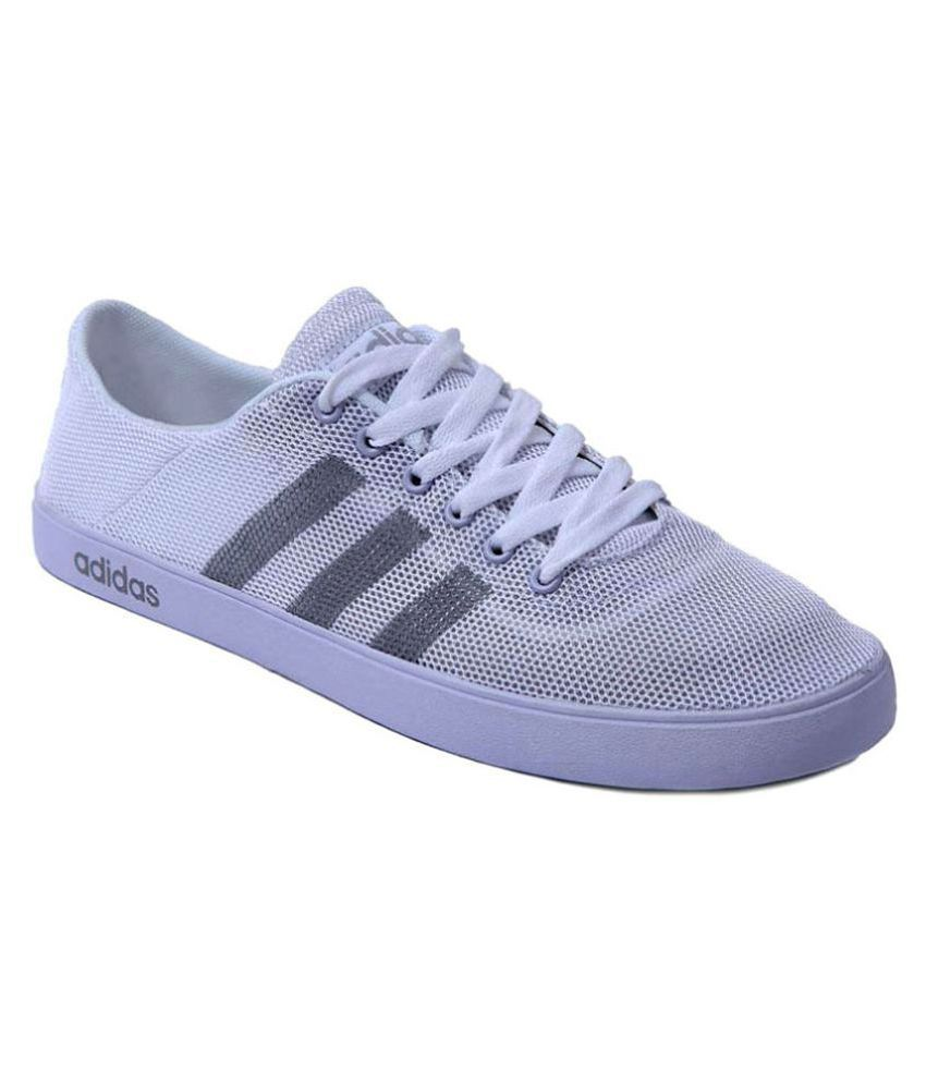 Adidas Neo White Casual Shoes ...