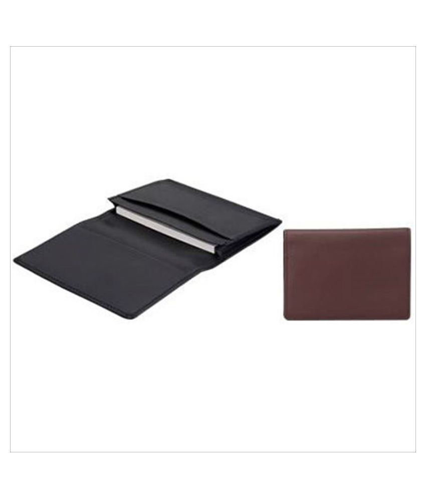 Brown pilot business card holder calf for 25 sheets LN01-150C-BN ...