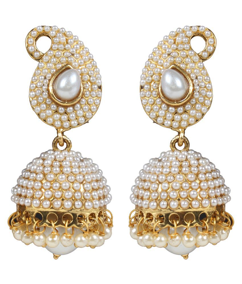 Penny Jewels Party Wear Fashion Designer Traditional Jhumkis for Women