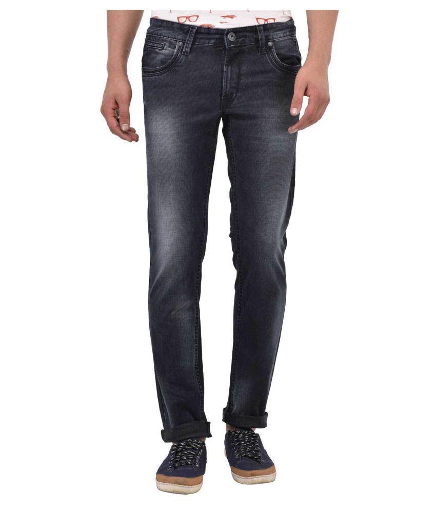 Blue Buddha Black Skinny Jeans