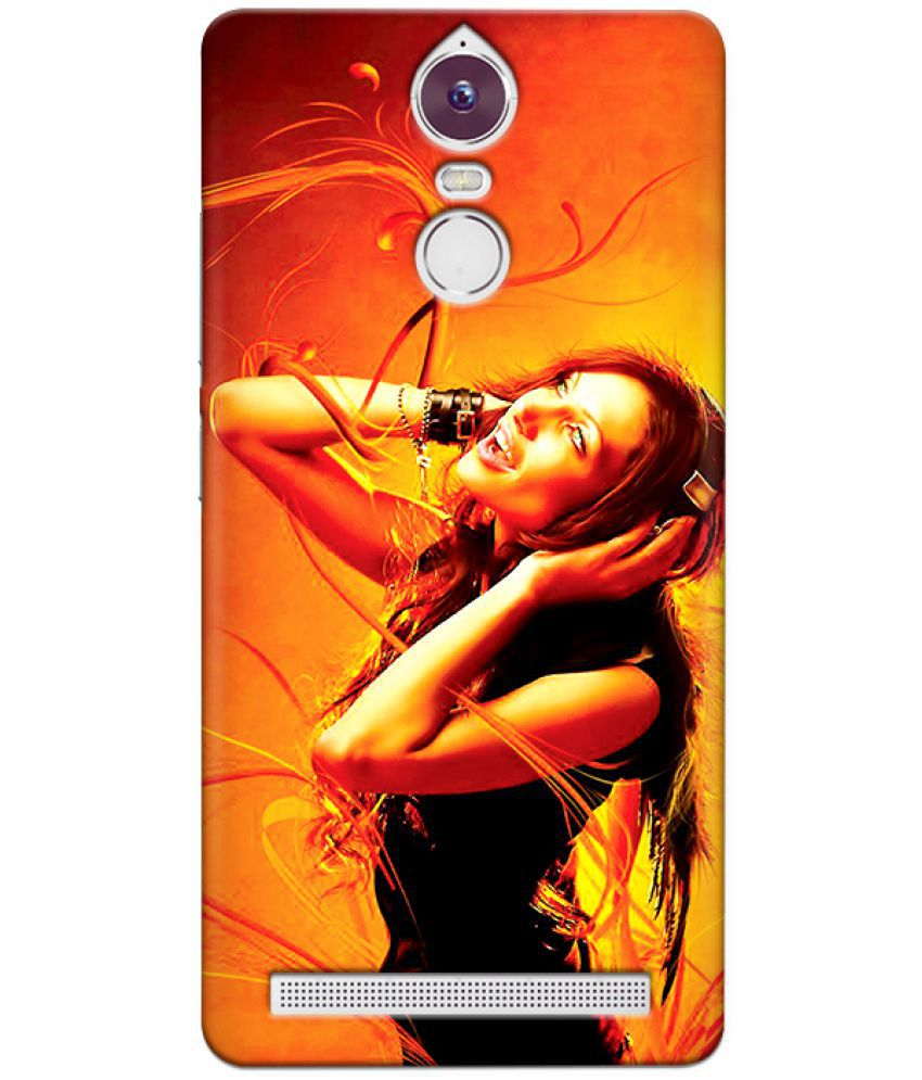 Lenovo K5 Note Printed Cover By CRAZYINK