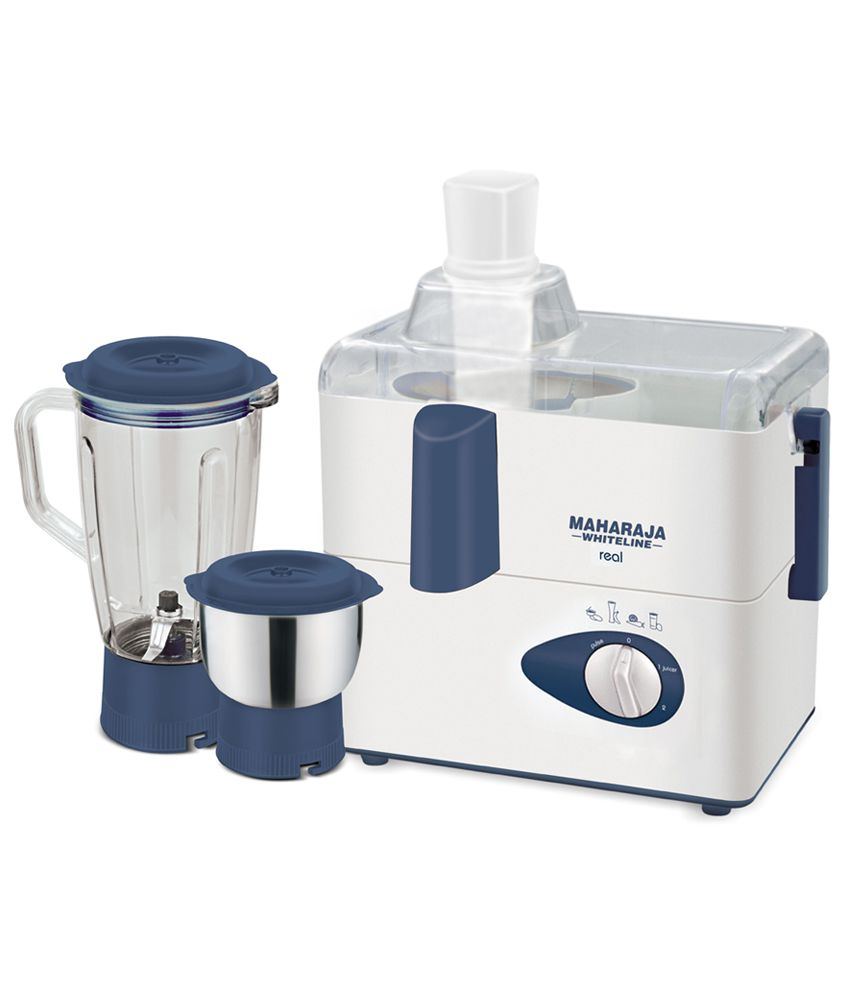 Maharaja Whiteline Real-JX207 450 Watt 2 Jar Juicer Mixer Grinder