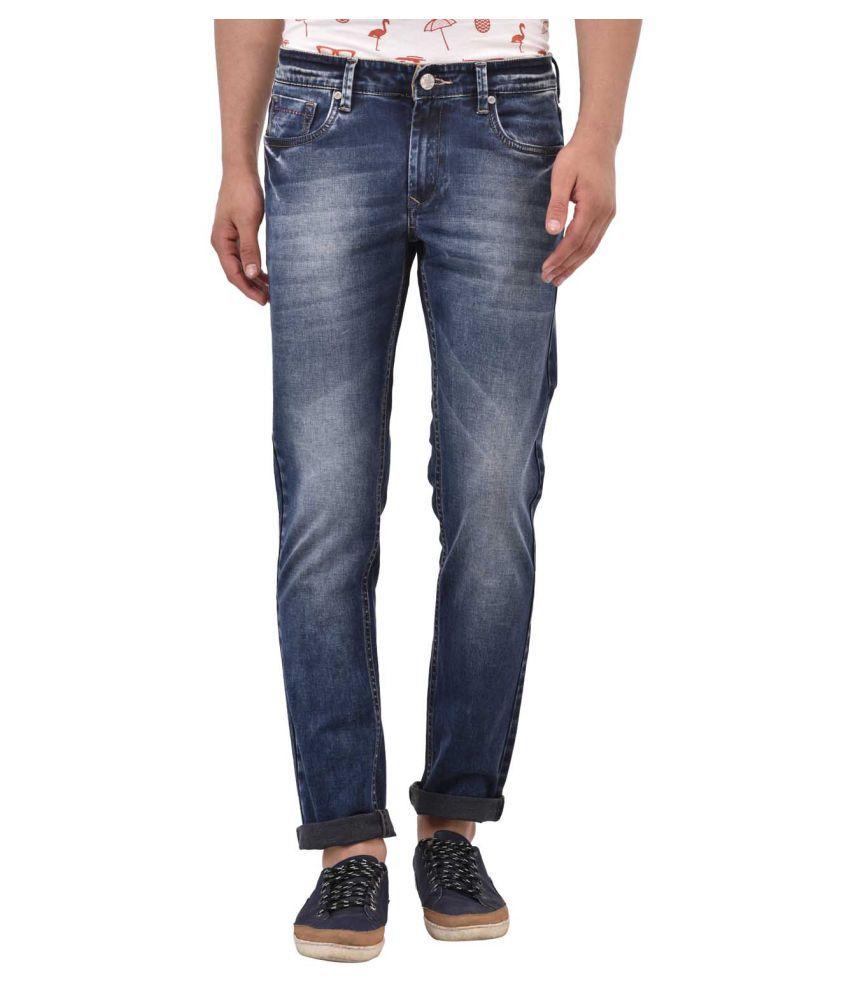 Blue Buddha Blue Skinny Jeans