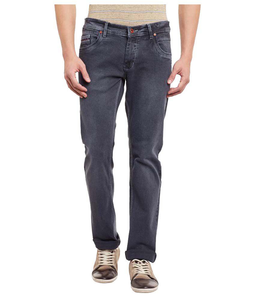 Duke Grey Relaxed Jeans