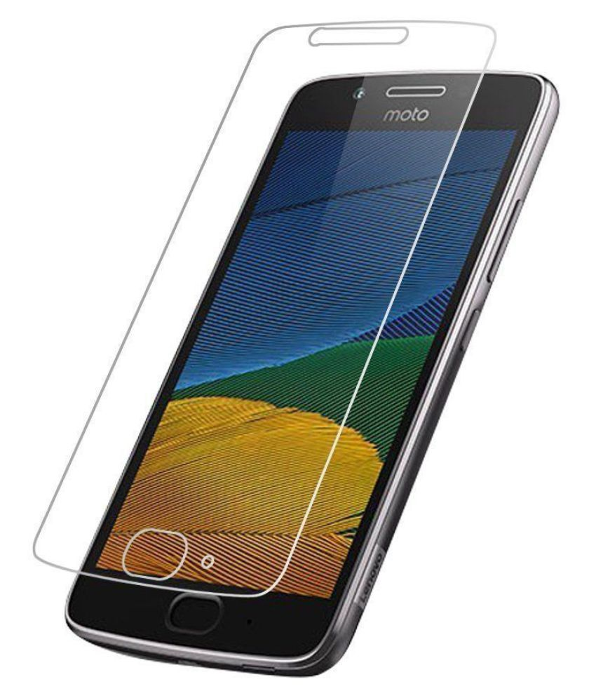 Moto G5 Plus Tempered Glass Screen Guard By Doyen Creations