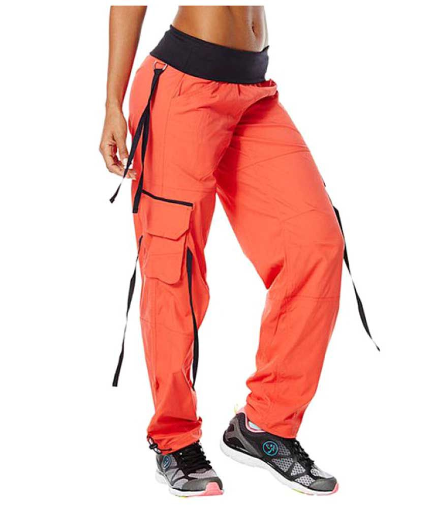 Zumba Women Soft-N-Stretch Cargo Pants
