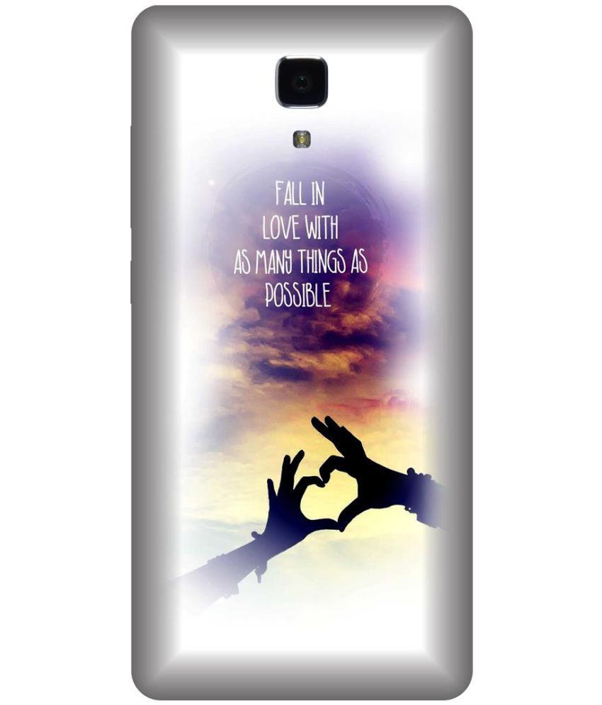 Xiaomi Mi4 Printed Cover By Skintice