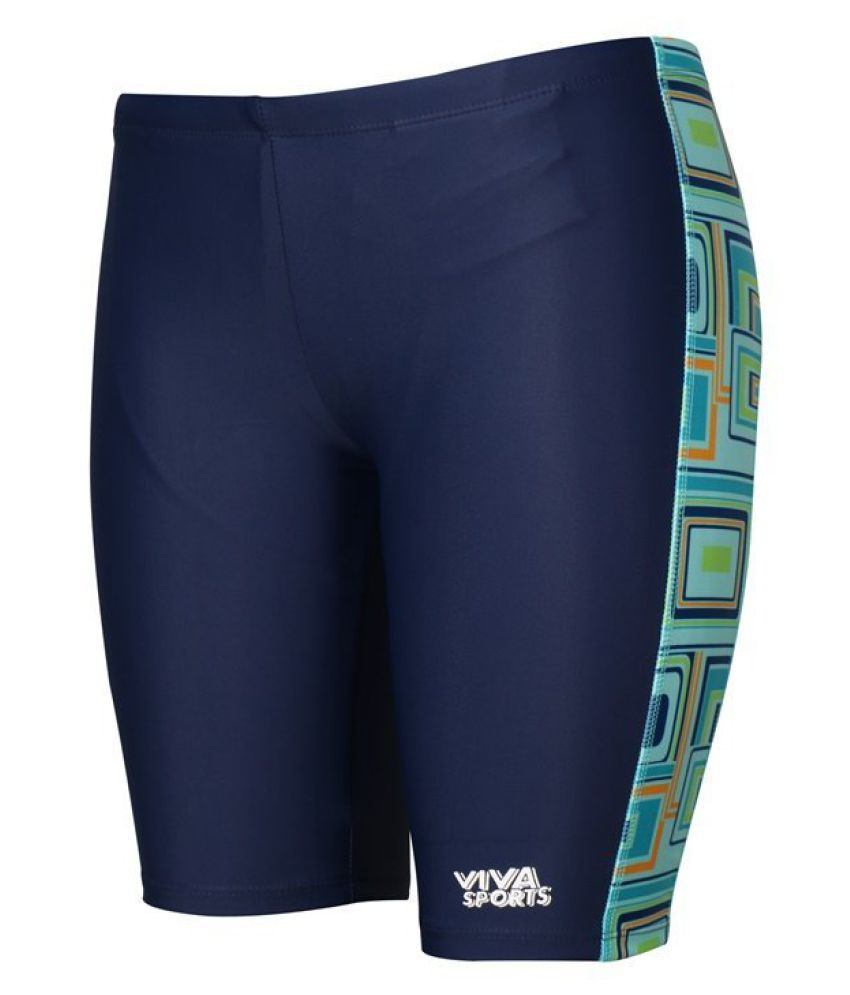 Viva Sports VSJK-002-A Kid's Swimming Jammers (Multicolor)