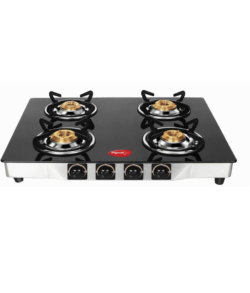 5a81486a5 Pigeon Sterling Ultra 4 Burner Glass Manual Gas Stove Price in India - Buy  Pigeon Sterling Ultra 4 Burner Glass Manual Gas Stove Online on Snapdeal