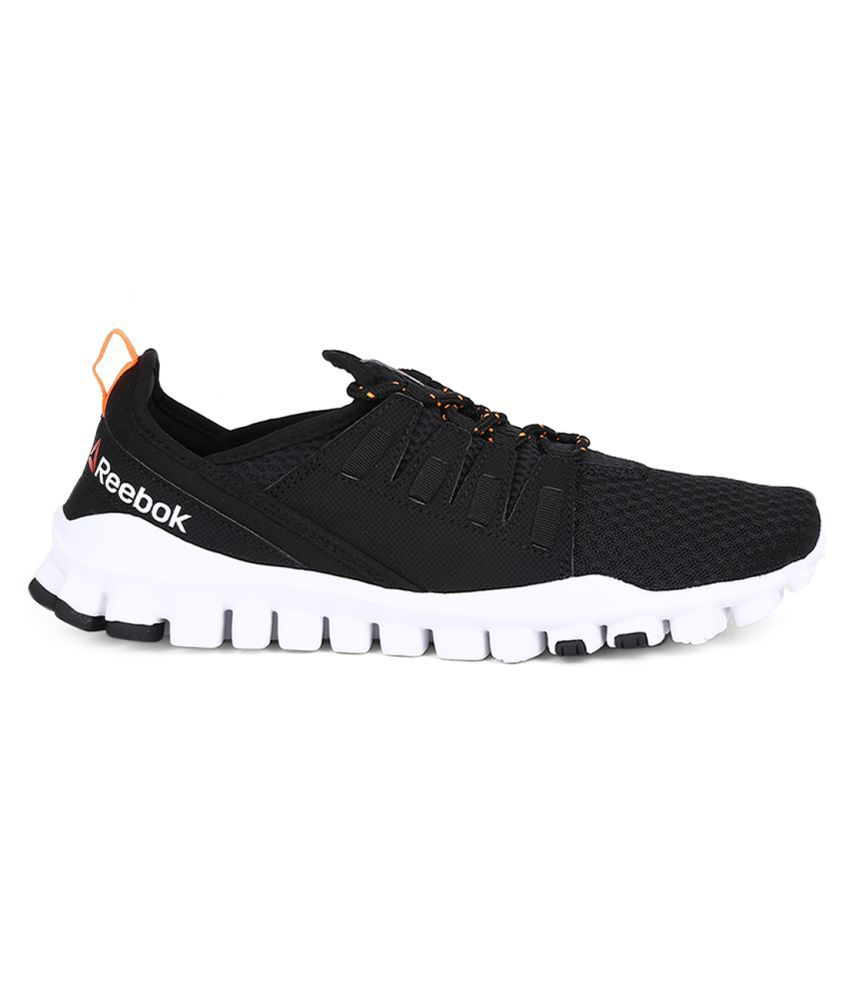 Reebok IDENTITY FLEX Black Running Shoes Reebok IDENTITY FLEX Black Running  Shoes ... b73ca7400