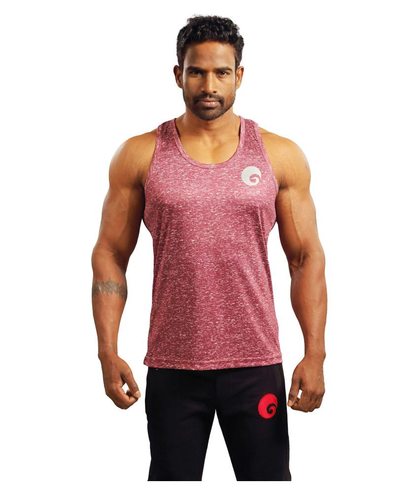 Omtex Pink Sublimated Gym Tank