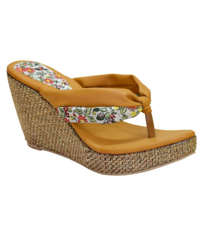 Bora Bora Multi Color Wedges Heels