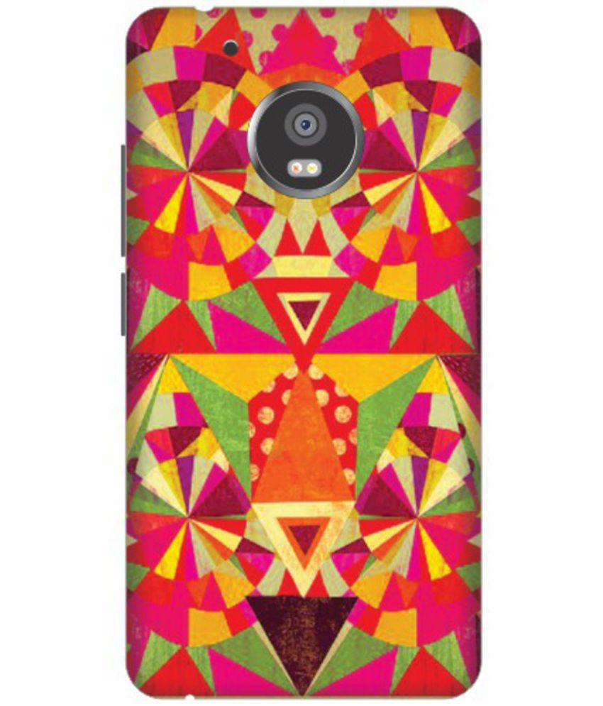 Moto G5 Plus 3D Back Covers By Printland