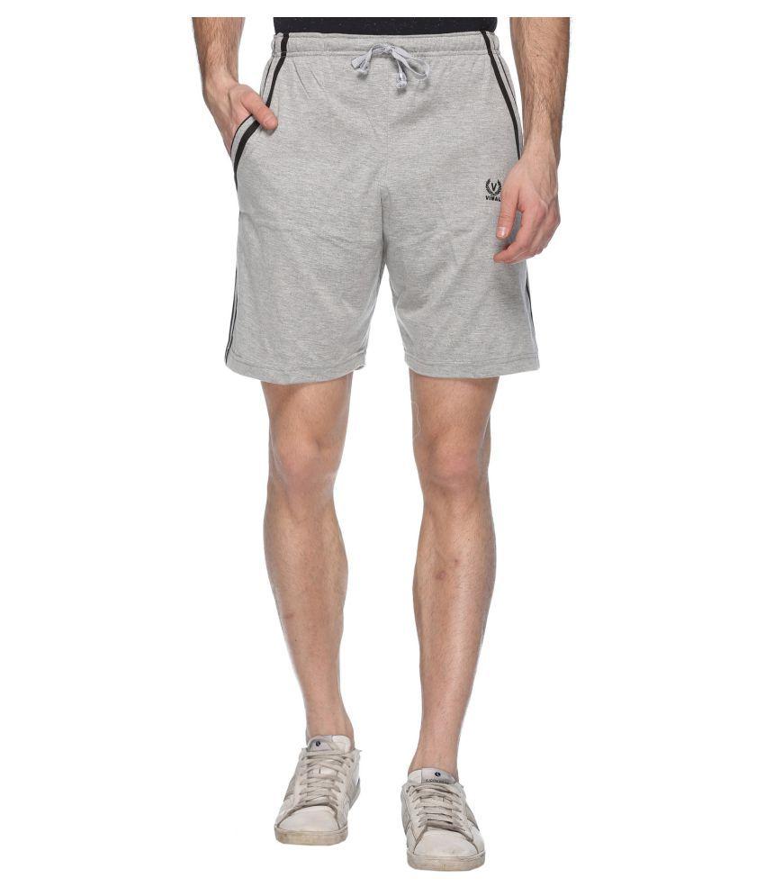 Vimal Jonney Silver Shorts