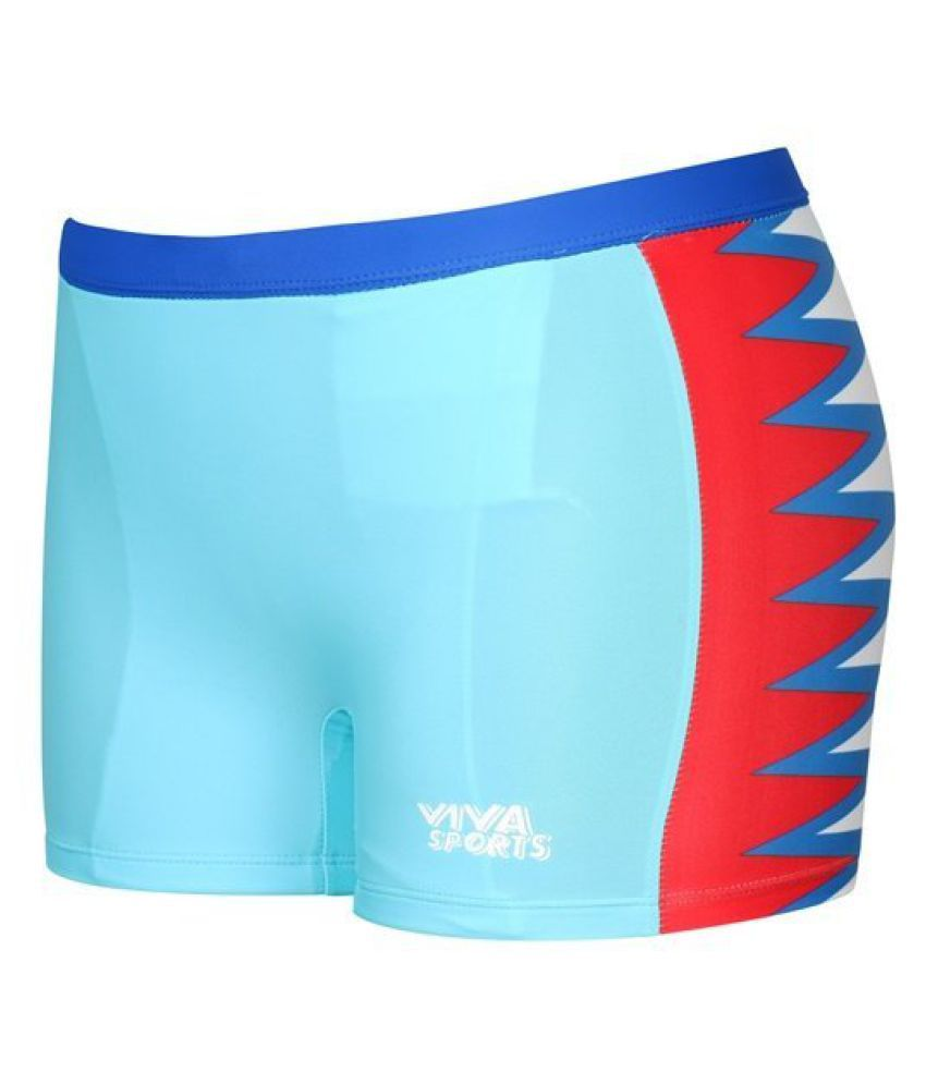 Viva Sports VSTK-003-B Kid's Swimming Trunks (Multicolor)/ Swimming Costume