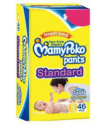 Mamy Poko Pants Extra Absorb Diaper - 46 Pieces