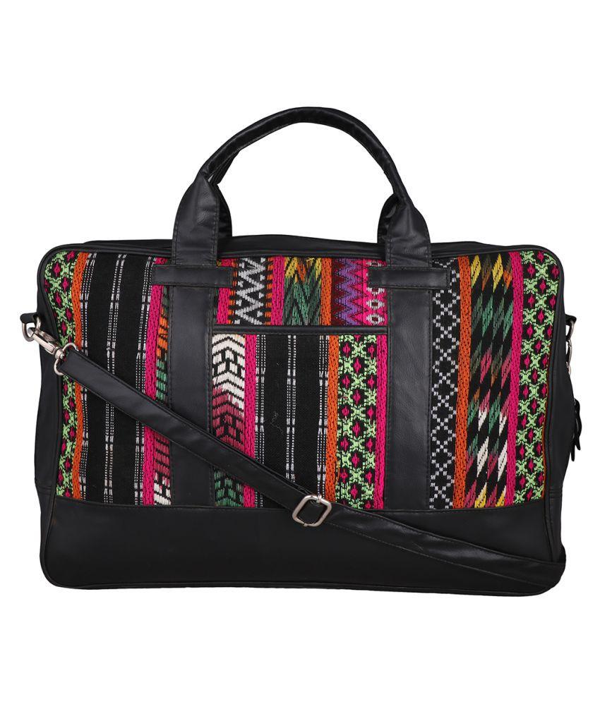 Harp Multi Color Canvas Casual Messenger Bag