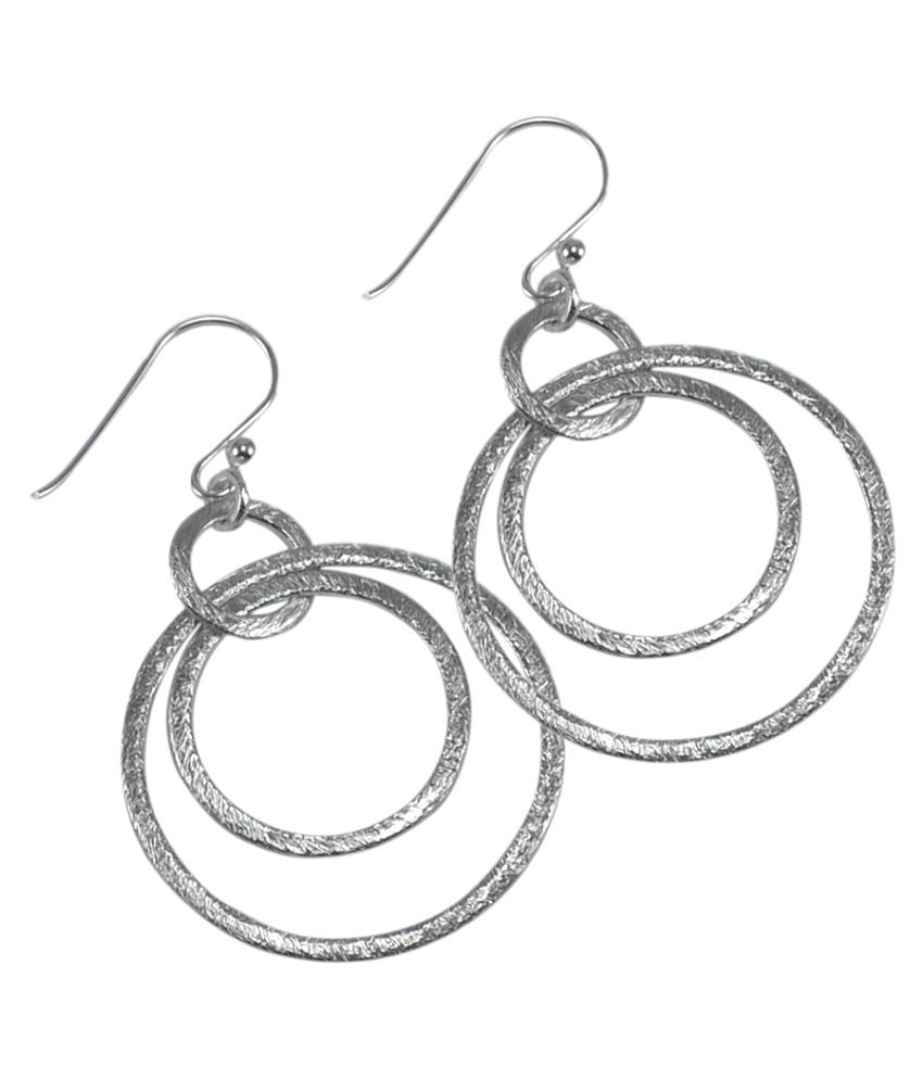 Silvesto India Silver Earrings